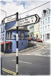 ireland road sign - contact us